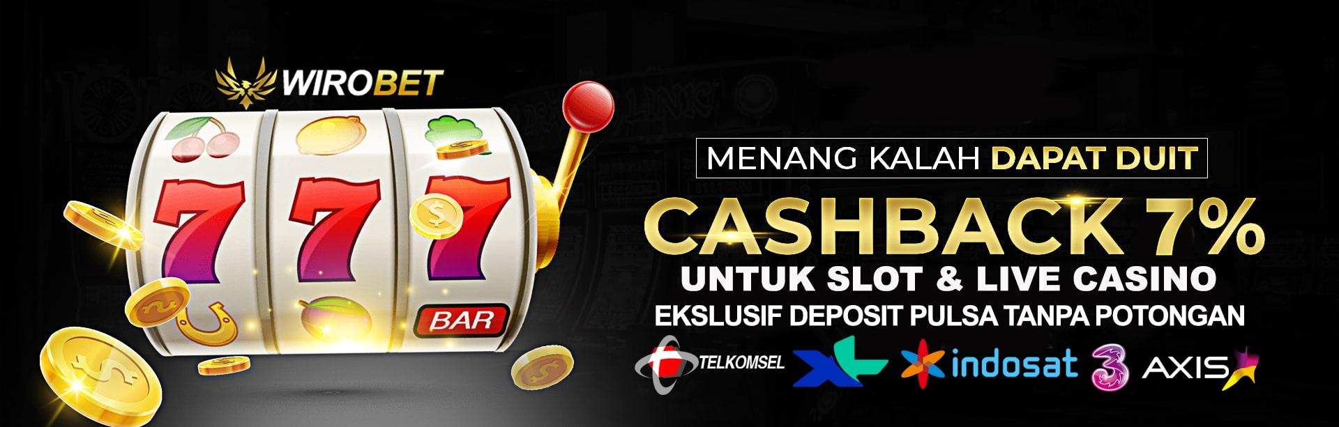 Cashback slot dan live casino